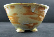 Hand Crafted Art Pottery Glazed Ceramic Clay Dish Bowl Artist Signed