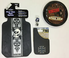 Renegade Iron Cross 6 Pc Automotive Gift Set Floor Mats Mud Guards and more