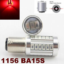 1156 BA15S 180° 7506 3497 P21W 33 SMD samsung LED Red Bulb Brake Light M1 MAR