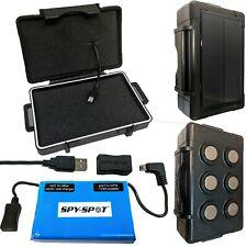 Spy Spot NEW Solar Magnetic Case Extend Battery for GL300MG Track I  GPS Tracker