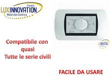 TERMOSTATO VIMAR BTICINO AMBIENTE INCASSO TE215BI BIANCO  termostato 503