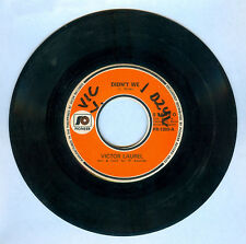 Philippines VICTOR LAUREL Didn't We OPM 45 rpm Record