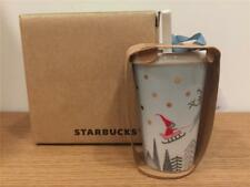 NEW 2018 STARBUCKS TAIWAN COFFEE CHRISTMAS WHITE ORNAMENT SPECIAL VIP WITH TAG