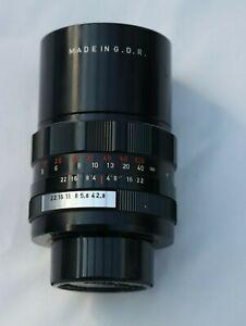PENTACON AUTO f2.8 135mm Lens Pentax Mount