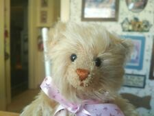 OOAK Artist mohair Teddy Bear by Diana Lind Wee Treasures New Hampshire 12in EUC