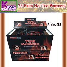 35 Pairs Hot Toe Warmers Pack Heat Feet Foot Sole Warmer Ski Snow 70 KASA.