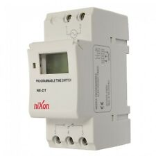7 Day Programmable Din Rail Timer Free Shipping