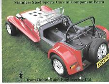 ROBIN HOOD SPORTS CARS KIT CAR SALES BROCHURE 1980's/1990's