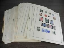 WW, BRITISH COLONIES, 4000+ Stamps hinged/mounted on remainder pages