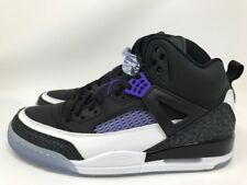 MEN'S JORDAN SPIZIKE-Black/Dark Concord/White-DISCOUNTED-US SIZE 13