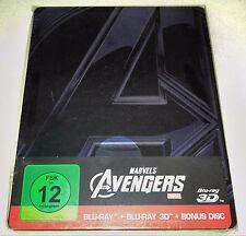 New Marvel Avengers 3D+2D Blu-ray Steelbook™ Germany + Bonus Disc