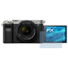 atFoliX 3x Schermbeschermer voor Sony a7C Screen Protector duidelijk Folie