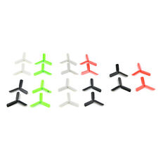 RC Quadcopter Propeller Replacement 20X 3-Blade Propeller for 7mm 8.5x20mm Motor