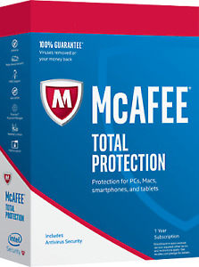 McAfee Total  2021/ 1 Device 5 Years Protection