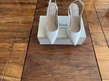 LK Bennett leather patent cream UK 7 40 BNWT RRP £185 ombré pearlised