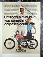 2) ADS 1970 Toyota Corona & Yamaha Mini Enduro 60 cc motorcycle Minibike