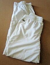 La Coste White Pants Boys Size 10 Euc