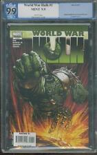 World War Hulk 1 PGX 9.9 up CGC 9.8 Thor Ragranok Movie John Romita Jr, art