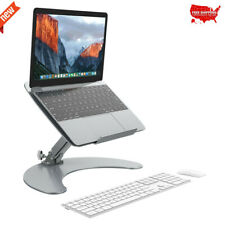 Adjustable Aluminum Laptop Desk for Home Office Notebook Pc Lapdesk Table Stand