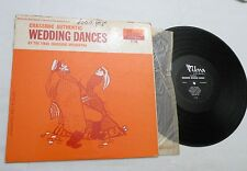 LP, Wedding Dances, Chassidic Authentic by the Tikva Chassidic Orch, Tikva, VG++