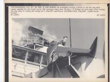 Navy T-2 Buckeye Jet Crash. 8x10