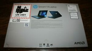 New Blue HP 14-DS0036NR Stream 14 AMD A4-9120C 64GB eMMC Touchscreen Laptop