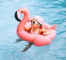 Pink Kiddy Flamingo Float, Inflatable Pool Float