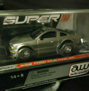 AUTO.W /AFX_Rare! [ 2005 MUSTANG GT ] US Slotcar! R1_Super||| Chassis! #FordMAD!