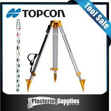 Tripod 5m Staff Combo  to suit Topcon RL-H4C Rotating  Laser Dome Aluminium