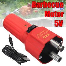 5V Barbecue Rotisserie Rotator Battery Motor Grill BBQ Holder Bracket USB Line