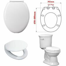 Unbranded Solid Oval Toilet Seats