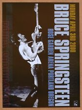 Bruce Springsteen Portland Rose Garden Original Concert Poster 2000