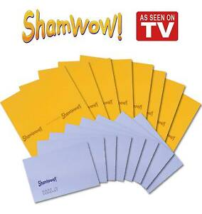 Shamwow Super Absorbent Towels Original Sham-wow from Germany 8x Large 8x Small