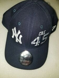 NWT New Era 9FORTY Gerrit Cole New York Yankees #45 Snapback MLB Navy Cap Hat