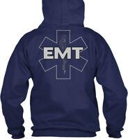 Emt Duty - Gildan Hoodie Sweatshirt