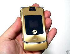 MOTOROLA MOTORAZR RAZR V3i - GOLD (UNLOCKED) CELLULAR CELL PHONE AT&T T-MOBILE
