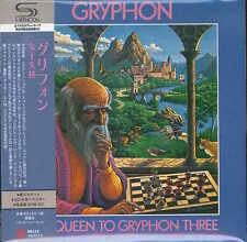 GRYPHON-RED QUEEN TO GRYPHON THREE-JAPAN MINI LP SHM-CD Hi25