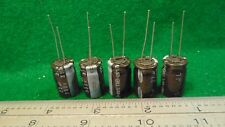(5) Samsung 22uf 350 WV Radial Lead Electrolytic Capacitors NOS
