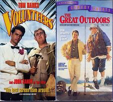Volunteers (VHS, 1991) & Great Outdoors (VHS, 1997), 2 Comedy VHS Tapes