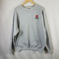 Warriors Band Mens Vintage Sweatshirt Large  L 90s Grey Hanes Jumper Oversized