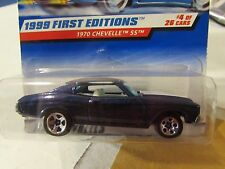 Hot Wheels 1970 Chevelle SS 1999 First Editions Blue