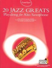 GUEST SPOT 20 JAZZ GREATS Alto Sax + online*