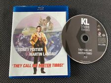 THEY CALL ME MISTER TIBBS! Rare OOP Blu-ray Disc Sidney Poitier Nice