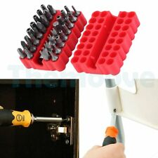 33Pcs Security Bit Set Drill Star Hex Spanner Torx Screwdriver with Holder AU