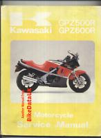 Kawasaki GPZ600R (1985 >>) Official Factory Manual ZX GPZ GPX ZL 600 500 R CB19