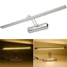 7W LED Illuminated Bathroom Mirror Front Light Makeup Shaving Wall Lamp w/Switch