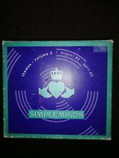 CD Box, Simple Minds - Themes Vol. 2 / 5Cd Box-Set 1982 bis 1985