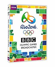 Rio 2016 Olympic Games [DVD] [2016] New Sealed BBC Sport Brazil