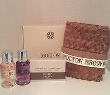 MOLTON BROWN OATMEAL SOAP, HONEYSUCKLE & BERGAMOT FACE CLOTH GIFTSET  (BB7.2MZ)