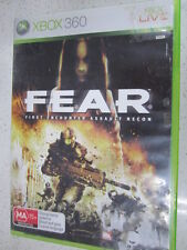 Fear F.E.A.R.: First Encounter Assault Recon xbox 360 PAL Version